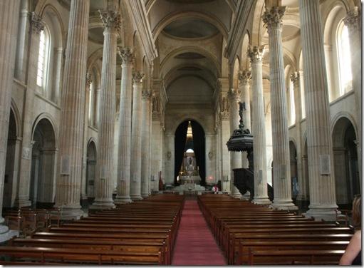 Kirke innvendig