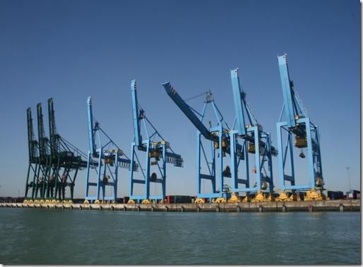 Kraner i Zeebrugge